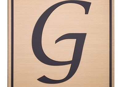 Etched G