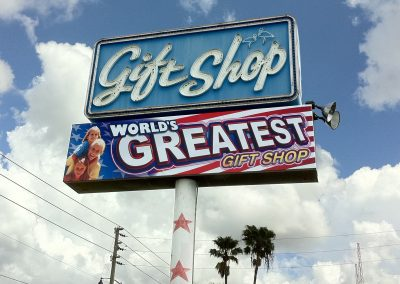 Gift Shop Large Format Sign