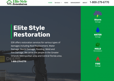 Elite Style Restoration Website