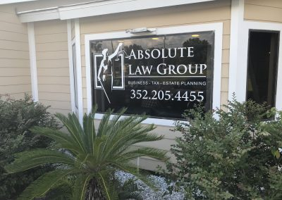 Absolute Law Group Window Decal