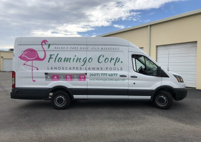 Flamingo Corp Decals