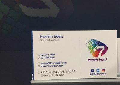 Promedia 7 Business Card
